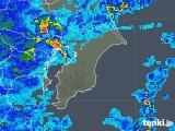 2020年04月13日の千葉県の雨雲レーダー