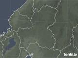 2020年04月14日の岐阜県の雨雲レーダー