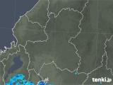 2020年04月17日の岐阜県の雨雲レーダー