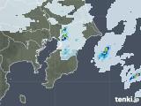 2020年04月24日の千葉県の雨雲レーダー