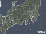 2020年04月25日の関東・甲信地方の雨雲レーダー