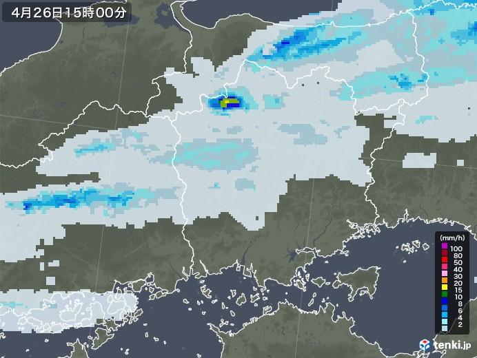 岡山 天気 雨雲 レーダー