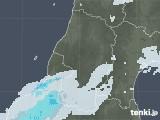 2020年04月26日の山形県の雨雲レーダー