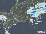 2020年04月27日の東海地方の雨雲レーダー