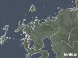 2020年04月27日の佐賀県の雨雲レーダー