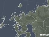 2020年04月29日の佐賀県の雨雲レーダー