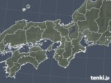 2020年05月01日の近畿地方の雨雲レーダー