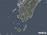 2020年05月01日の鹿児島県の雨雲レーダー