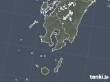 2020年05月05日の鹿児島県の雨雲レーダー