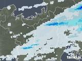 2020年05月06日の滋賀県の雨雲レーダー