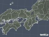 2020年05月07日の近畿地方の雨雲レーダー