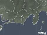 2020年05月07日の静岡県の雨雲レーダー