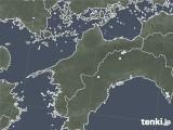 2020年05月07日の愛媛県の雨雲レーダー