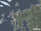 2020年05月07日の佐賀県の雨雲レーダー