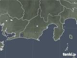 2020年05月08日の静岡県の雨雲レーダー