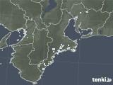 2020年05月08日の三重県の雨雲レーダー