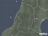 2020年05月08日の山形県の雨雲レーダー