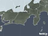 2020年05月09日の静岡県の雨雲レーダー