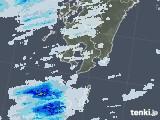 2020年05月10日の鹿児島県の雨雲レーダー