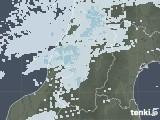 2020年05月10日の山形県の雨雲レーダー