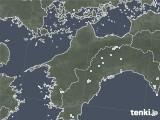 2020年05月11日の愛媛県の雨雲レーダー