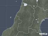 2020年05月11日の山形県の雨雲レーダー