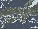 2020年05月12日の近畿地方の雨雲レーダー