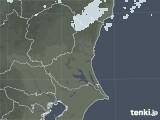 2020年05月12日の茨城県の雨雲レーダー