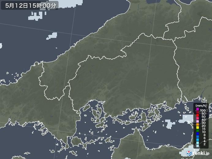 雨雲レーダー 東広島