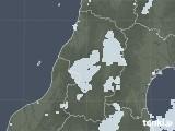 2020年05月12日の山形県の雨雲レーダー