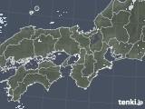 2020年05月13日の近畿地方の雨雲レーダー