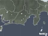 2020年05月13日の静岡県の雨雲レーダー