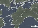 2020年05月13日の愛媛県の雨雲レーダー