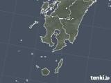 2020年05月13日の鹿児島県の雨雲レーダー