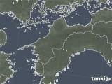 2020年05月14日の愛媛県の雨雲レーダー