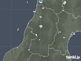 2020年05月14日の山形県の雨雲レーダー