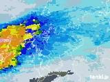 2020年05月15日の佐賀県の雨雲レーダー