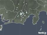 2020年05月17日の静岡県の雨雲レーダー