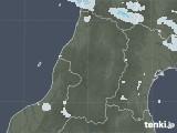 2020年05月17日の山形県の雨雲レーダー