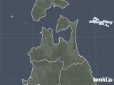 2020年05月18日の青森県の雨雲レーダー