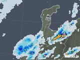 2020年05月19日の石川県の雨雲レーダー