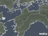 2020年05月19日の愛媛県の雨雲レーダー