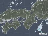 2020年05月21日の近畿地方の雨雲レーダー