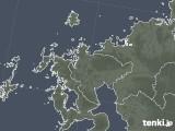 2020年05月21日の佐賀県の雨雲レーダー