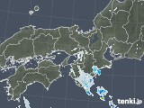 2020年05月22日の近畿地方の雨雲レーダー
