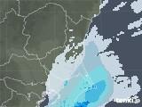 2020年05月22日の茨城県の雨雲レーダー