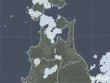 2020年05月22日の青森県の雨雲レーダー