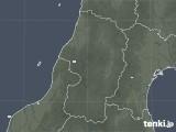2020年05月22日の山形県の雨雲レーダー