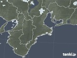 2020年05月25日の三重県の雨雲レーダー