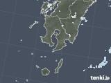 2020年05月25日の鹿児島県の雨雲レーダー